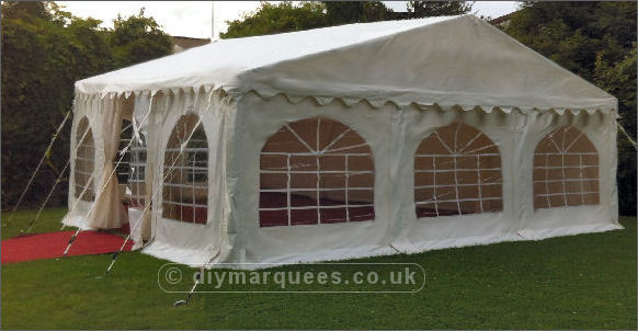 6x6m 650gsm Deluxe Marquee Roof