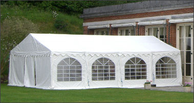 6x8m 500gsm Commercial Marquee Roof