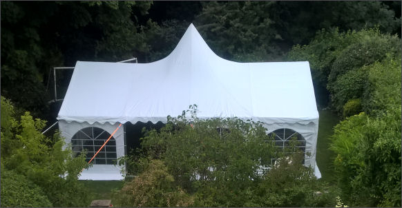 6x8m peaked commercial diy marquee
