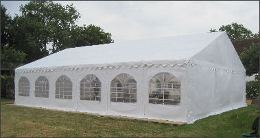 9x12m 500gsm Deluxe Marquee Roof