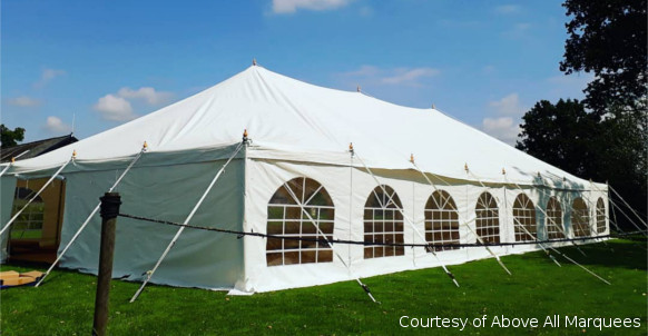 9x18m traditional diy marquee