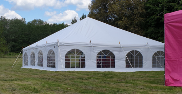 9x9m Traditional Marquee
