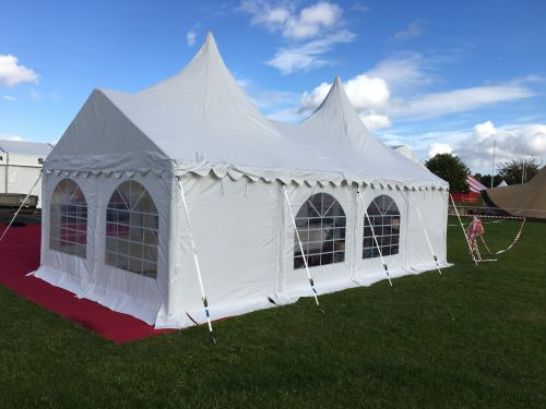 4x8m peaked commercial diy marquee