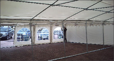 joining two marquees