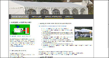 marquee hire website