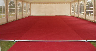 Marquee Flooring Red Green Or Honeybeige Marquee Carpet