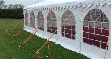 marquee tie downs