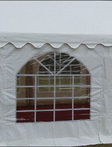 2m 500gsm commercial zipped window